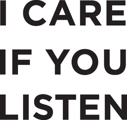 I Care If You Listen Logo